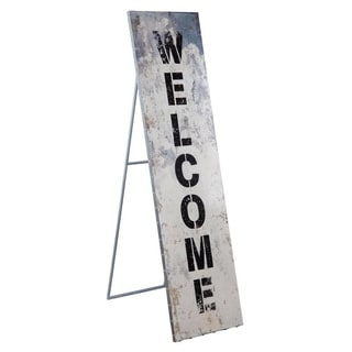Welcome Standing Sign
