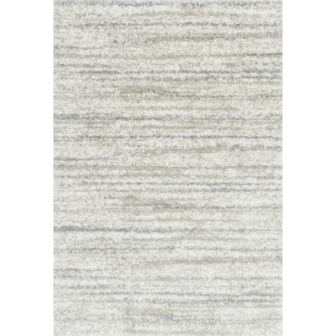 "Alexander Home Moroccan Abstract Shag Area Rug - 8'10"" x 12'"