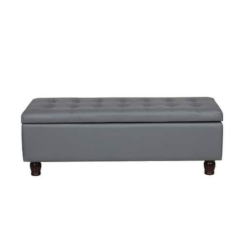Container Direct Furniture Storage Ottoman