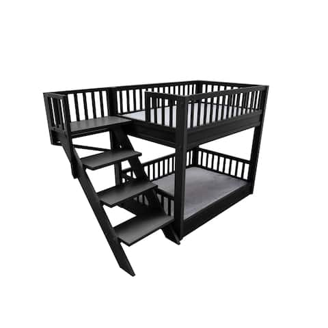 ECOFLEX Bunk Bed Dog Bed with Removable Cushions