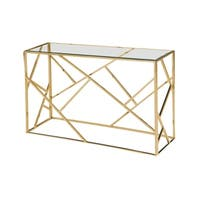 Best Master Furniture Angled Sofa Table