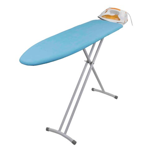 Sunbeam Blue Collapsible Ironing Board with Rest