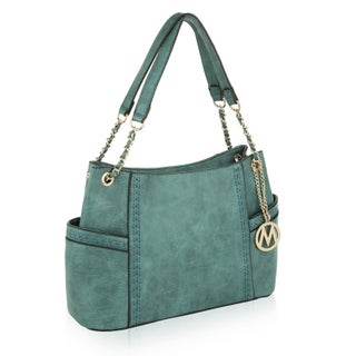 MKF Collection by Mia K Farrow Britny Vegan Leather Shoulder Bag