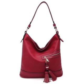 MKF Collection by Mia K Farrow Elyza Vegan Leather Fashion Hobo Bag