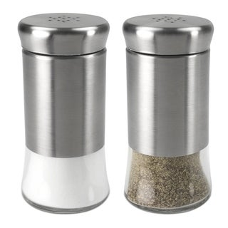 Home Basics Essence Collection 2-piece Salt and Pepper Set