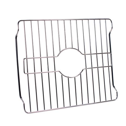 Home Basics Chrome Steel Sink Protector
