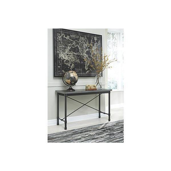 Hastings Coffee Table: Shop Signature Design By Ashley Minnona Metallic Gray