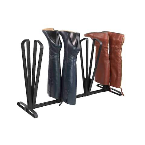 Home Basics Black Plastic Boot Rack