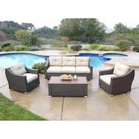 South Beach 4 Pieces Deep Seating Set