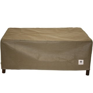 Duck Covers Essential Rectangle Patio Ottoman or Side Table Cover