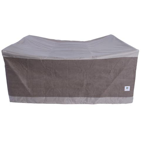 Duck Covers Elegant Square Patio Table with Chairs Cover