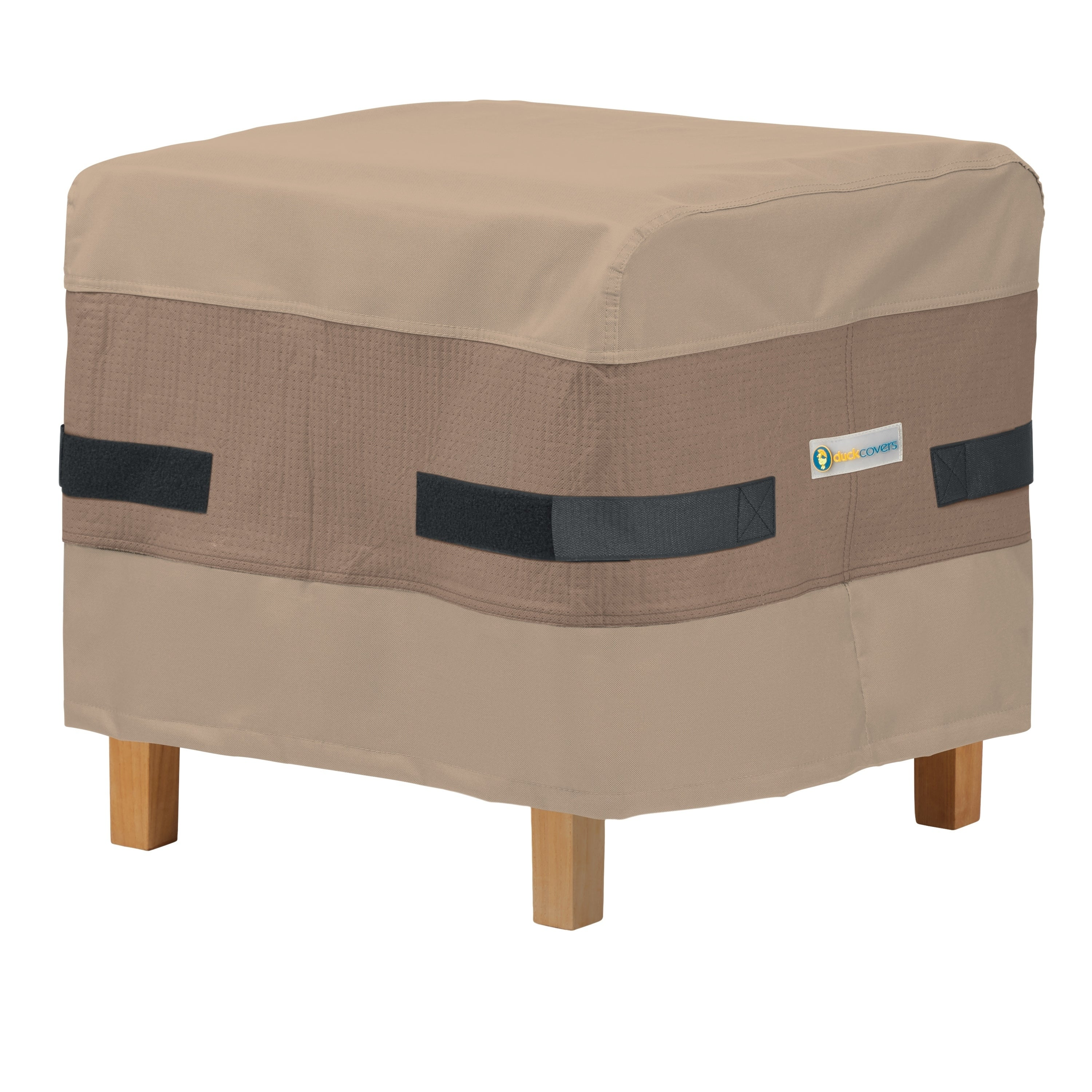 Covers Elegant Square Patio Ottoman