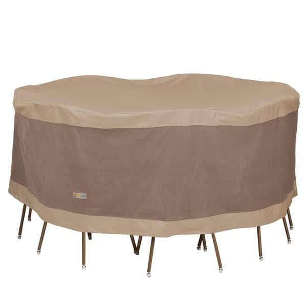 Duck Covers Elegant Round Patio Table