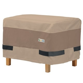 Duck Covers Elegant Rectangle Patio Ottoman or Side Table Cover (3 options available)