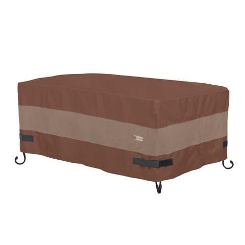 Duck Covers Ultimate Waterproof 56 Inch Rectangular Fire Pit Cover