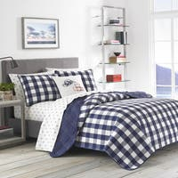 Eddie Bauer Lake House Plaid Quilt Set