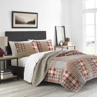 Link to Eddie Bauer Hawthorne Cotton Quilt Set Similar Items in Quilts & Coverlets