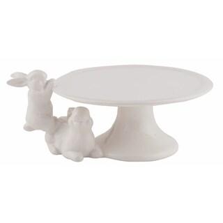 "Dolomite Elegant Climbing Bunny Cake Stand - 8.75"" x 7"" x 3.75"""