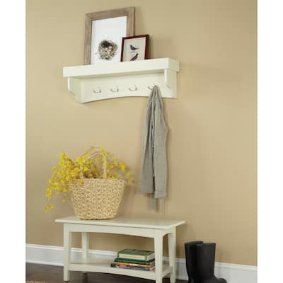 Copper Grove Daintree Coat Hook and Bench Set