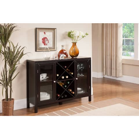 Copper Grove Sonfjallet Wine Rack Buffet Server