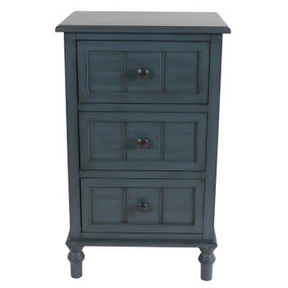 Copper Grove Sonfjallet Three Drawer Accent Table