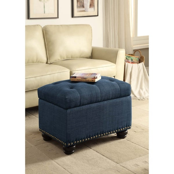Fine Buy Blue Ottomans Storage Ottomans Online At Overstock Gmtry Best Dining Table And Chair Ideas Images Gmtryco