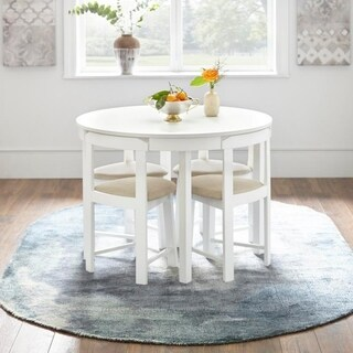 Buy White Kitchen u0026 Dining Room Sets Online at Overstock | Our Best Dining Room u0026 Bar Furniture Deals : white kitchen table set - hauntedcathouse.org