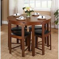 Deals List: Harrisburg 5-piece Tobey Compact Round Dining Set