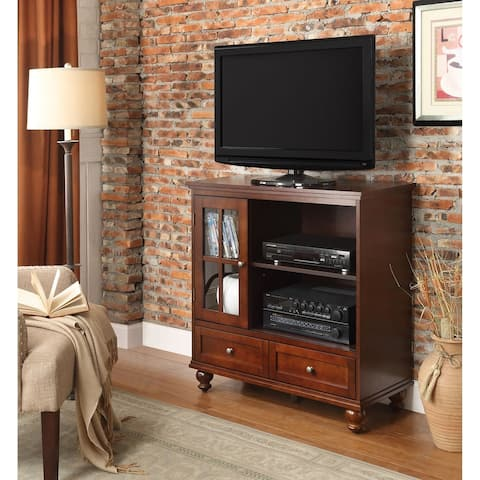 Copper Grove Angelina TV Stand with 2 Drawers and Cabinet