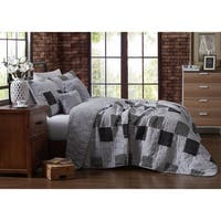 The Gray Barn Ermine Black and White 5-piece Quilt Set