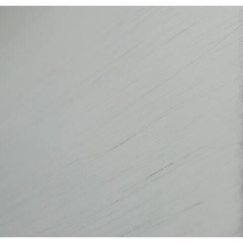 Copper Grove Loches 32-inch Grey Fretwork Entryway Console