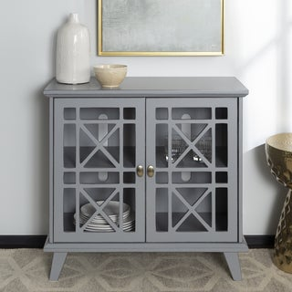 "Copper Grove Loches 32"" Fretwork Entryway Console - 32 x 16 x 30h"