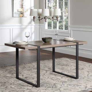 Carbon Loft Edelman 60-inch Urban Blend Driftwood Dining Table