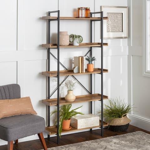 Carbon Loft Edelman 68-inch Urban Pipe Bookshelf - 36 x 12 x 68h