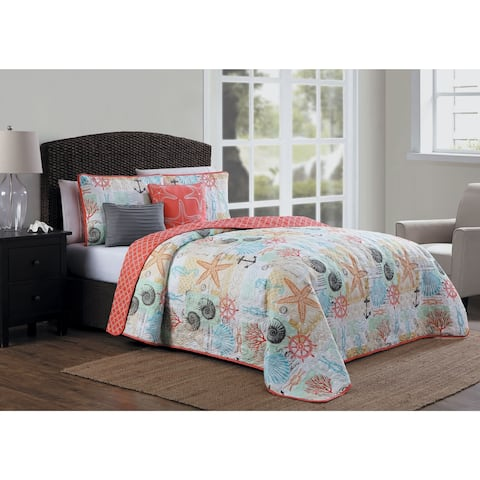 Porch & Den Buckingham 5-piece Quilt Set