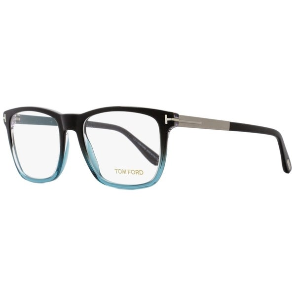 82fc20adadb Tom Ford TF5351 05A Unisex Black Blue Palladium 54 mm Eyeglasses