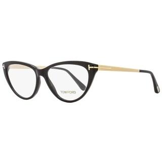 Tom Ford TF5354 001 Womens Black/Gold 53 mm Eyeglasses