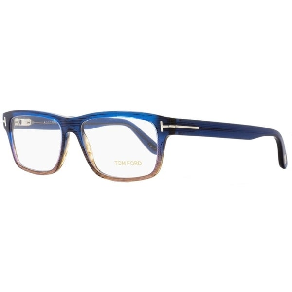 3a2856bab4 Tom Ford TF5320 092 Mens Brown Shaded Blue 56 mm Eyeglasses - brown shaded  blue
