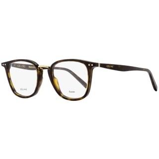 Celine CL41419 086 Womens Dark Havana/Gold 47 mm Eyeglasses - dark havana/gold