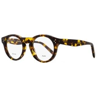 Celine CL41381 E88 Unisex Blonde Tortoise 47 mm Eyeglasses - blonde tortoise