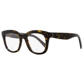 Celine CL41378 086 Unisex Dark Havana 48 mm Eyeglasses - Dark Havana
