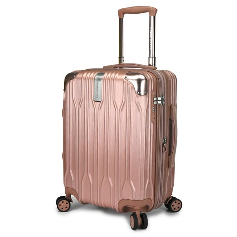 """Traveler's Choice Bell Weather 20"""" Expandable Hardside Spinner Luggage"""