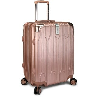 """Traveler's Choice Bell Weather 24"""" Expandable Hardside Spinner Luggage"""