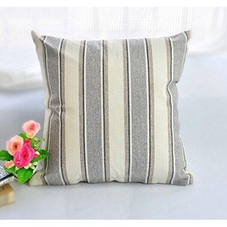 """Cool Stripe Pillow Cases Cotton Cushion Cover-18"""" x 18"""""""