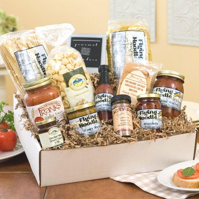 Roman Holiday Gourmet Italian Gift Basket Combo