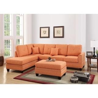 Buy Orange Sectional Sofas Online At Overstock.com | Our Best Living Room  Furniture Deals