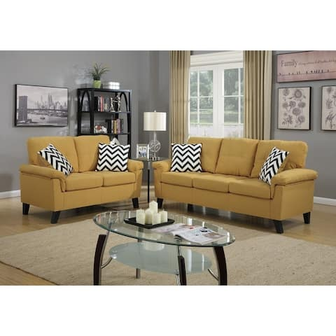 Swell Buy Yellow Living Room Furniture Sets Online At Overstock Interior Design Ideas Tzicisoteloinfo