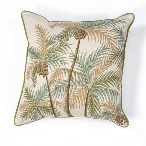 "Palm Springs 18"" x 18"" Pillow"