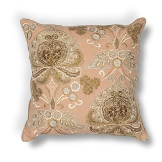 """Gold Traditions 18"""" x 18"""" Pillow"""