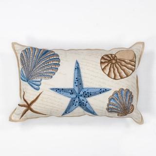 "Seashells 12"" x 20"" Pillow"